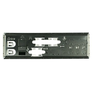 MBBCKPLT20 Motherboard I/O Shield Plate, Steel