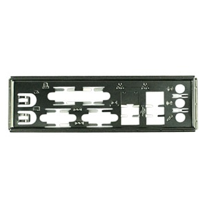 MBBCKPLT23 Motherboard I/O Shield Plate, Steel