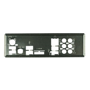 MBBCKPLT24 Motherboard I/O Shield Plate, Steel