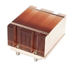 SNK-P0018 Socket 771 Passive Heatsink for 2U Rack Server Chassis, Copper