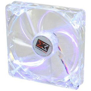 Crystal CLF-F1455 140mm Case Fan w/ Purple LED, 1000 RPM, 63.567 CFM, 16 dBA