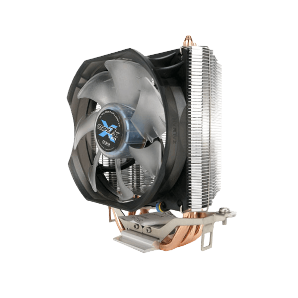 CNPS7X LED+, Socket 1151/AM3+/FM2+, 134mm Height, Copper/Aluminum, Retail CPU Cooler
