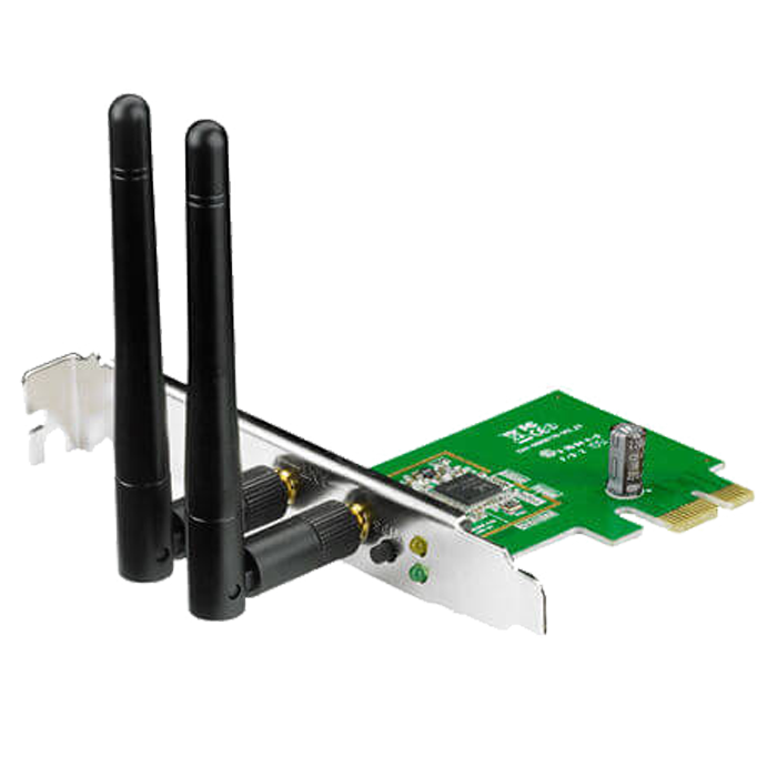 PCE-N15, Internal, IEEE 802.11b/g/n, 2.4GHz, 300 Mbps, PCI Express 2.0 x1, Retail Wireless Adapter