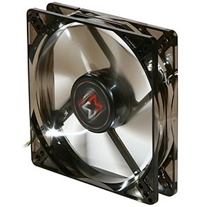 XLF-F1255 120mm Case Fan, 1500 RPM, 61 CFM, 20 dBA, 4-pin PWM, White LED