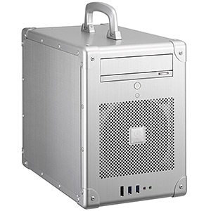 PC-TU200A Silver Mini Tower Case, 3.5