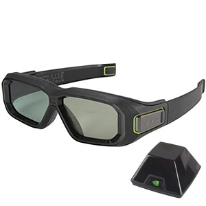 3D Vision® 2 Wireless Glasses Kit, Wireless, Retail