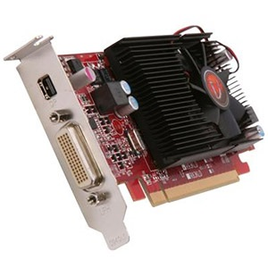 Radeon™ HD 6570 650MHz, 1GB DDR3, PCIe x16, DMS59 + mini-DP, Full-height/Low-profile, Retail