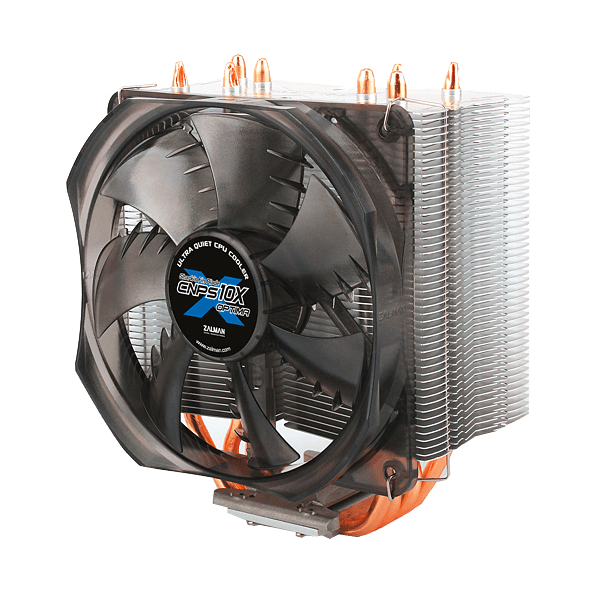 CNPS10X Optima 120mm Fan, Socket 1150/1151/1155/1156/1366/775, FM1/FM2/AM2/AM2+/AM3/AM3+, 152mm Height, Copper/Aluminum, CPU Cooler