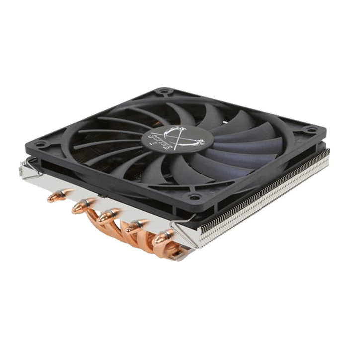 Big Shuriken 2 Rev. B, Socket 2011-3/1151/AM3+/FM2+, 58mm Height, Copper/Nickel, Retail CPU Cooler