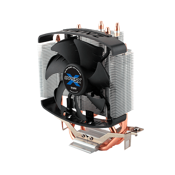 CNPS5X Performa 92mm Fan, Socket 1155/1156/1150/1151/775/1366, FM1/FM2/AM3/AM3+/AM2/AM2+, 134mm Height, Copper/Aluminum, CPU Cooler
