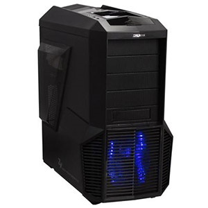 Z11 Plus Black Mid-Tower Case, ATX, No PSU, Steel/Plastic