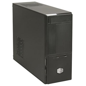 Elite 361 (RC-361-KKN1) Black Mini-Tower Case, ATX, No PSU, Steel/Plastic