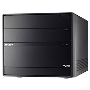 Shuttle XPC SX79R5 Black Mini PC Barebone, LGA2011, Intel® X79, DDR3-1600 32GB /4, PCIe x16, SATA 6 Gb/s RAID /2, USB 3.0 /4, HDA, GbLAN /2, 500W PSU