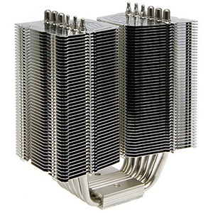 Megahalems Rev. C CPU Cooling Heatsink, Socket 2011/1155/1156/1366/775, 159mm Height, Nickel Plated Copper, Retail