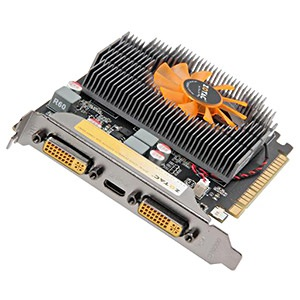 ZT-60403-10L, GeForce® GT 630 Synergy 810MHz, 2GB GDDR3 1620MHz, PCIe x16, mini-HDMI + 2x DVI, Retail