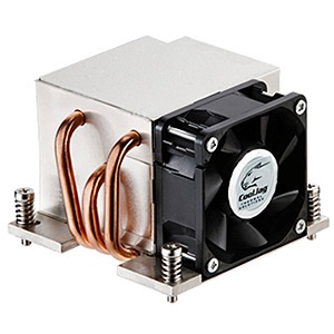ITO-D/S-Q Socket 2011 Active 2U Server CPU Cooler, 9000 RPM, Aluminum/Copper