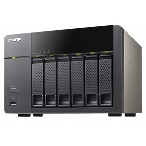 TS-669L-US 6-bay NAS Server, Intel® Atom 2.13GHz Dual-Core, 1GB DDR3, 512MB DOM, SATA RAID 6 /6, eSATA /2, GbLAN /2, USB 3.0 /2, USB 2.0 /5, 250W PSU