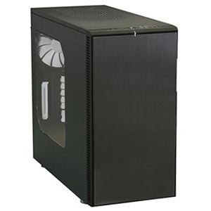 Define R4 Titanium Grey w/ Window Silent Mid-Tower Case, ATX, No PSU, Plastic/Steel