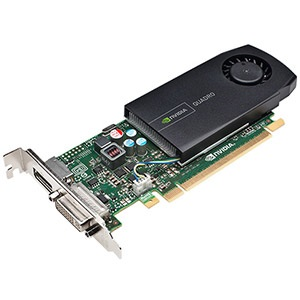 NVIDIA® Quadro® 410, 512MB DDR3, PCIe x16, DP + DVI, Full-height/Low-profile, Retail