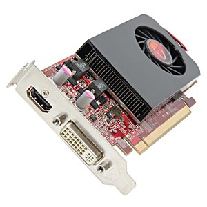 Radeon™ HD 7750 SFF, 1GB GDDR5, PCIe x16, HDMI + DVI, Full-height/Low-profile, Retail
