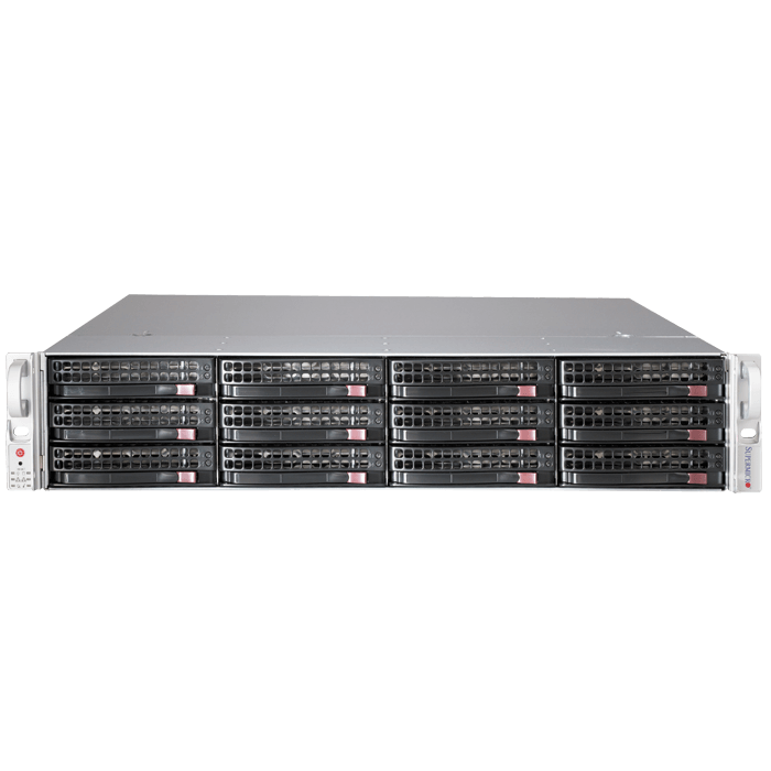 826BE16-R920LPB 2U Rack Server Chassis, 12 x 3.5