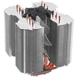CNPS14X CPU Cooler, Socket 2011/1155/1156/1366/775/FM1/AM3/AM2, 160mm Height, Copper/Aluminum, Retail