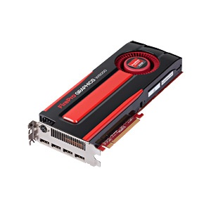 FirePro™ W8000, 4GB GDDR5, PCIe x16, 4x DP +  Stereoscopic 3D-Out, Retail