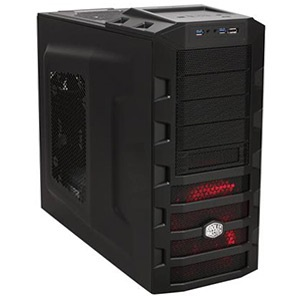 HAF 922 (RC-922M-KKN3-GP) Black Mid-Tower Case, ATX, No PSU, Steel