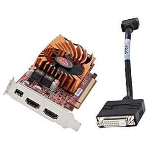 Radeon™ HD 7750, 1GB GDDR3, PCIe x16, mini-DP + 2x HDMI, Full-height/Low-profile, Retail