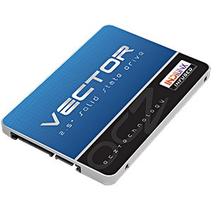 128GB Vector SSD, MLC Indilinx Barefoot 3, 550/400 MB/s, 2.5-Inch w/ 3.5-Inch Bracket, SATA 6 Gb/s, Retail