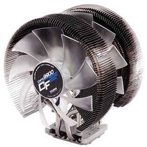 CNPS9900DF CPU Cooler, Socket 2011/1155/1156/1366/775/FM2/FM1/AM3/AM2, 154mm Height, Copper, Blue LED, Retail