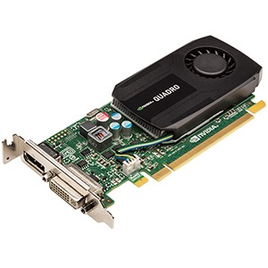 NVIDIA® Quadro® K600, 1GB DDR3, PCIe x16, DP + DVI, Full-height/Low-profile, Retail