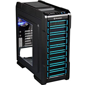 Chaser A31 Black Mid-Tower Case w/ Window, ATX, No PSU, Steel/Plastic