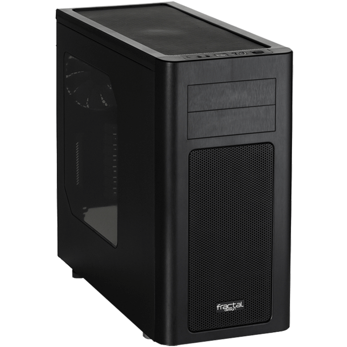 ARC Series Midi R2 w/ Window, No PSU, ATX, Black, Mid Tower Case