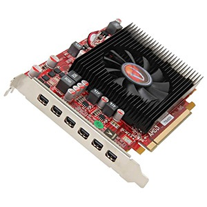 Radeon™ HD 7750, 2GB GDDR5, PCIe x16, 6x mini-DP, Retail