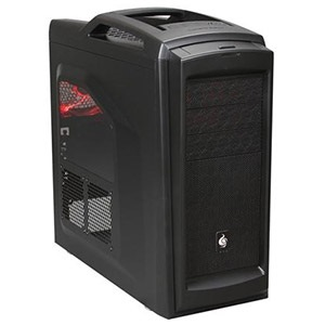CM Storm Scout 2 Advanced Midnight Black Mid Tower Case w/ Window, ATX, No PSU, Steel/Plastic