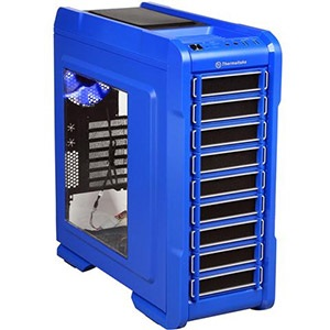 Chaser A31 Blue Mid-Tower Case w/ Window, ATX, No PSU, Steel/Plastic