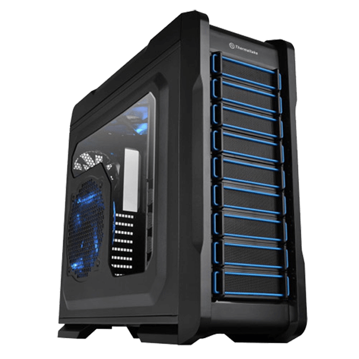 Chaser Series A71 w/ Window, No PSU, E-ATX, Black, Full Tower Case