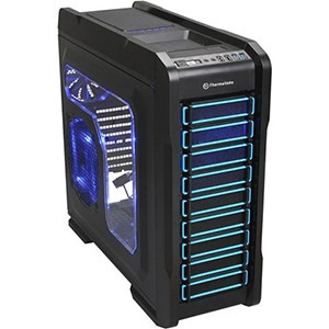 Chaser A71 Black Full Tower Case w/ Window, EATX, 8 slots, No PSU, Steel/Plastic