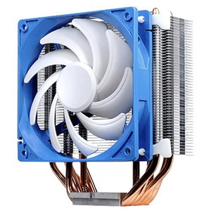 Argon AR03 CPU Cooler w/ 120mm Fan, Socket 2011/1155/1156/1366/775/FM2/FM1/AM3/AM2, 159mm Height, Copper/Aluminum