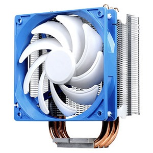 Argon AR01 CPU Cooler w/ 120mm Fan, Socket 2011/1155/1156/1366/775/FM2/FM1/AM3/AM2, 159mm Height, Copper/Aluminum
