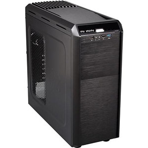 G7 Black Mid-Tower Case, ATX, No PSU, Steel/Plastic