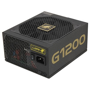 G1200-MA 1200W Power Supply w/ Modular Cables, 80 PLUS® Gold, 24-pin ATX12V 2x EPS12V, 8x 8/6-pin PCIe, Retail