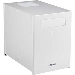 PC-Q28A Silver Mini Tower Case, 3.5/2.5 HDD /4, Mini-ITX, 2 slots