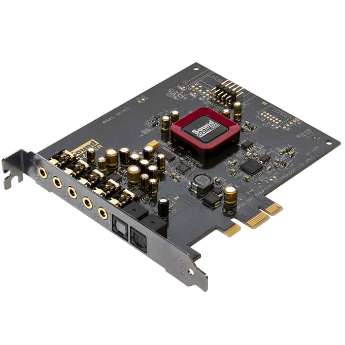 Sound Blaster Z, Internal, 5.1 channels, 24-bit 192KHz, S/PDIF, PCI Express 2.0 x1, OEM Sound Card