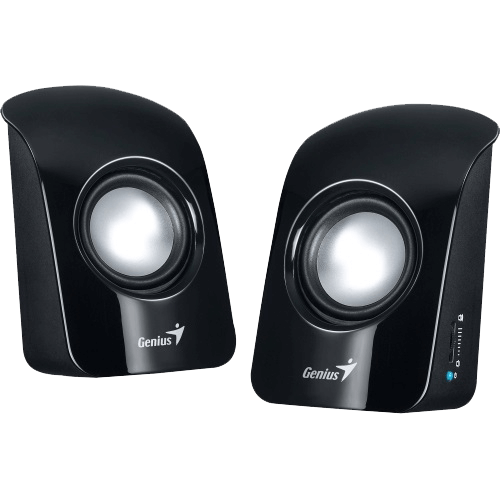 SP-U115, Black, 2.0 1.5W RMS, Stereo, USB Powered, Speakers System