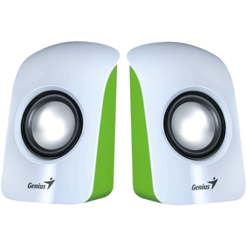 SP-U115, White, 2.0 1.5W RMS, Stereo, USB Powered, Speakers System