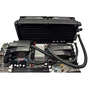 ECO C240 A.L.C. Dual Head Advanced Liquid Cooling System, Socket 1366/1156/775/AM3/AM2, Retail