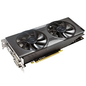 GeForce® GTX 760 SuperClocked w/ ACX Cooler 1072-1137MHz, 2GB GDDR5 6008MHz, PCIe x16 SLI, DP + HDMI + 2x DVI, Retail