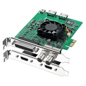 DeckLink Studio 2 SD/HD Broadcast Video Card, SDI/HDMI/Analog Connections, PCIe x1